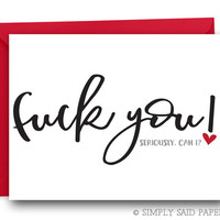 Funny Valentines Card - Funny Greeting Card, Funny Love Card, Funny Anniversary Card,  Funny Card, Love Card, Valentine Card