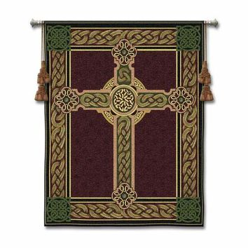 Pure Country Weavers 3436-WH Celtic Tapestry Wall Hanging