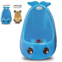 Joy Baby Generation 2 Boy Urinal Potty Toilet Training with FREE Potty Training Game (Blue Whale)