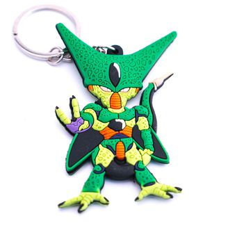 Dragon Ball Z Imperfect Cell Key Chain