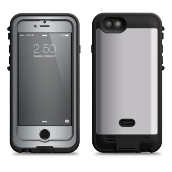 The Chrome Reflective  iPhone 6/6s Plus LifeProof Fre POWER Case Skin Kit