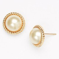 Women's kate spade new york 'seaport' faux pearl studs