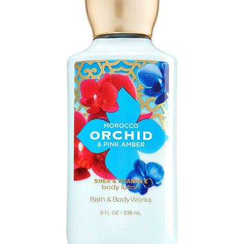 Bath & Body Works MOROCCO ORCHID & PINK AMBER Body Lotion 8 oz