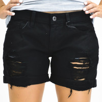 Laney Beth Boyfriend Shorts