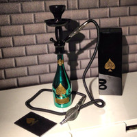 Armand De Brignac Green .750L Bottle Hookah - Limited Edition Ace Of Spades