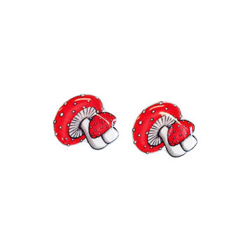 Magical Mushrooms Earrings
