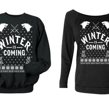 game of thrones christmas sweater.