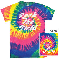 Rock the Field Tie Dye Field Hockey Tee-longstreth