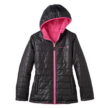 Free Country Reversible Puffer Jacket - Girls