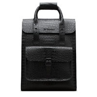 DR MARTENS Small Croc Leather Backpack