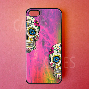 Iphone 5 Case  Iphone 5 Covers  Colorful Sugar by DzinerCases