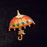 Seventies Umbrella Pin