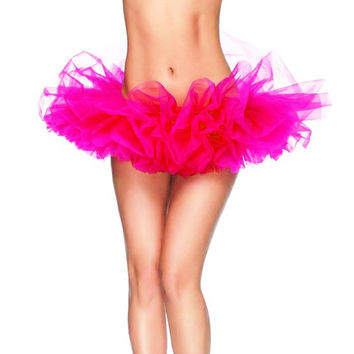 Free Size 13 Colors Fancy Outfit Costume Tulle Tutu Skirt Lady's TUTU Mini Skirt Adult Petticoat