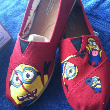 Despicable Me Minion TOMS shoes