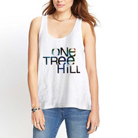 One Tree Hill galaxy Womens Tank Top *