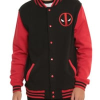 Marvel Deadpool Varsity Jacket