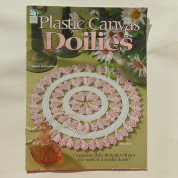Plastic Canvas Doilies Pattern House of White Birches 181055