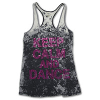 Keep Calm and Dance On Tank : LD1038