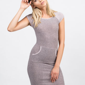 Blurred Lines Pocket Dress