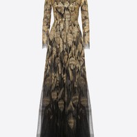 Embroidered evening dress for Woman | Valentino Online Boutique