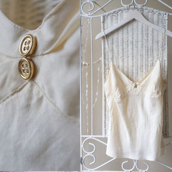 Beautiful and sensual vintage 100% silk blouse for day or night :)