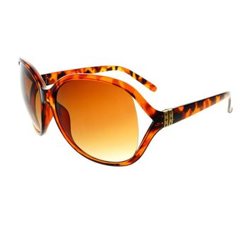 Womens Large Designer Retro Fashion Rhinestones Oversized Sunglasses O48