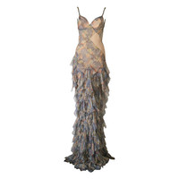 Alexander McQueen Spring/Summer 2004 Deliverance Collection Gown