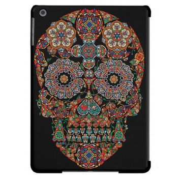 Day of the Dead Sugar Skull iPad Air Cases