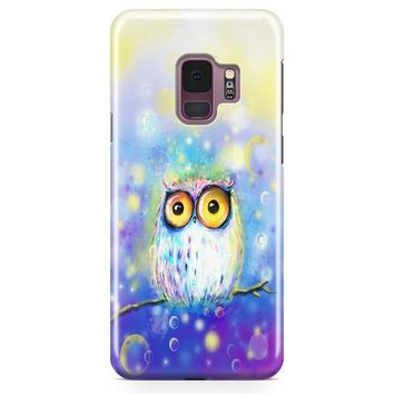 The Owl Samsung Galaxy S9 Case | Casefantasy