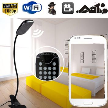 Camera Intelligent Table Lamp Smart Speaker