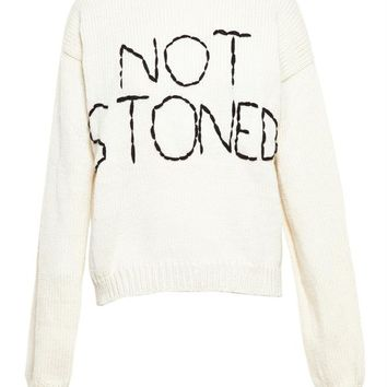 Not Stoned Jumper - ENFANTS RICHES DEPRIMES