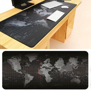 Fashion seller Old World Map mouse pad  new large pad to mouse notebook computer mousepad gaming mouse mats to mouse gamer