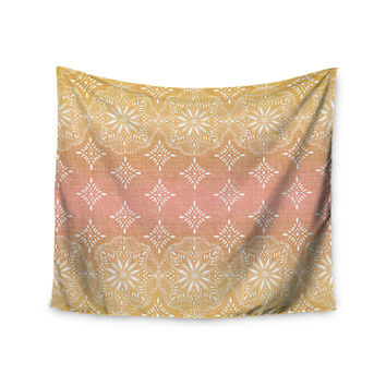"Suzie Tremel ""Medallion Blush Ombre"" Pink Wall Tapestry"