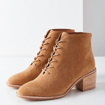 Jeffrey Campbell Talcott Lace-Up Ankle Boot | Urban Outfitters