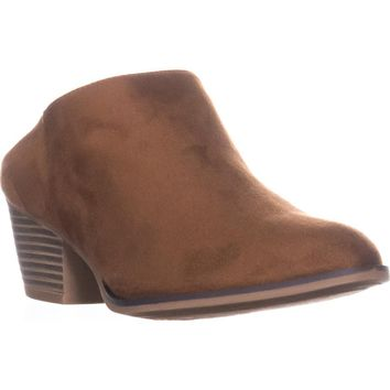 Chinese Laundry Shelbi Low-heel Mules, Whiskey Suede, 7.5 US / 38 EU