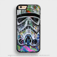 star wars stormtrooper pop art iPhone 6 Plus Case iPhone 6S+ Cases