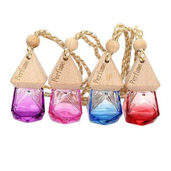 Hanging Glass Bottle Perfume Pendant Air Freshener