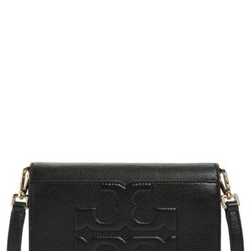 Tory Burch 'Bombe T' Leather Convertible Crossbody Bag | Nordstrom