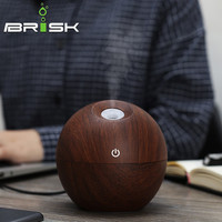 BRISK Essential Oil Diffuser 130 ML aromatherapy diffuser air purifier usb air humidifier Cold Mist Fragrance Humidifiers