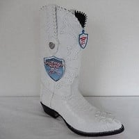 Wild West Boots Horn-back Crocodile Cowboy Boots