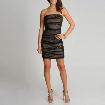 A. Byer Juniors Sequin Embellished Party Dress | Overstock.com