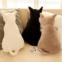 Kawaii Neko Cute Cat Shaped Sofa Seat Pillow Cushion Stuffed plush animal gift idea
