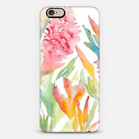 Tropical Pink Ginger iPhone 6 case by Pineapple Bay Studio | Casetify