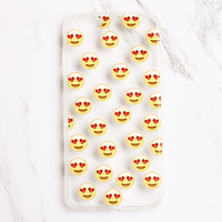 Heart Eye Emoji iPhone Case
