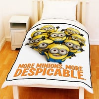 DESPICABLE ME More Minions More Despicable Bed Throw Fleece Blankets Ideal Gift