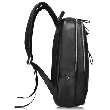 100% Genuine Cow Leather Minimal Backpack