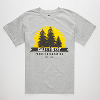 Cali's Finest Parks And Recreation Mens T-Shirt Heather Grey  In Sizes