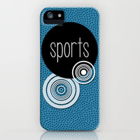 SPORTS iPhone Case by VIAINA DESIGN | Society6