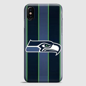 Seahawks Football iPhone X Case