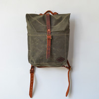 Bradley Mountain Scout Backpack Pine [Scout Backpack - Pine] : ORN HANSEN, Vintage + American Made General Store